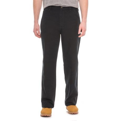 Carhartt Washed Duck Work Pants - Factory Seconds (For Men) in Black
