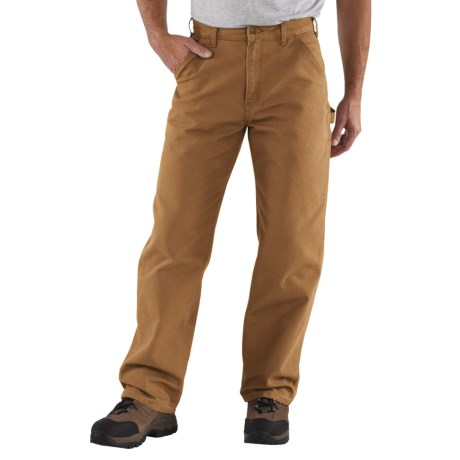 Carhartt Washed Duck Work Pants - Factory Seconds (For Men) in Carhartt Brown
