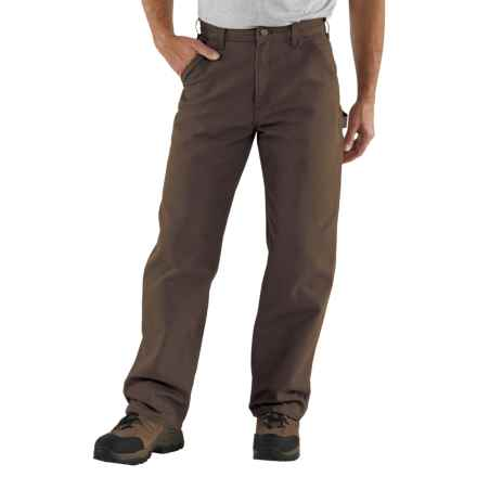 Carhartt Washed Duck Work Pants - Factory Seconds (For Men) in Dark Brown - 2nds