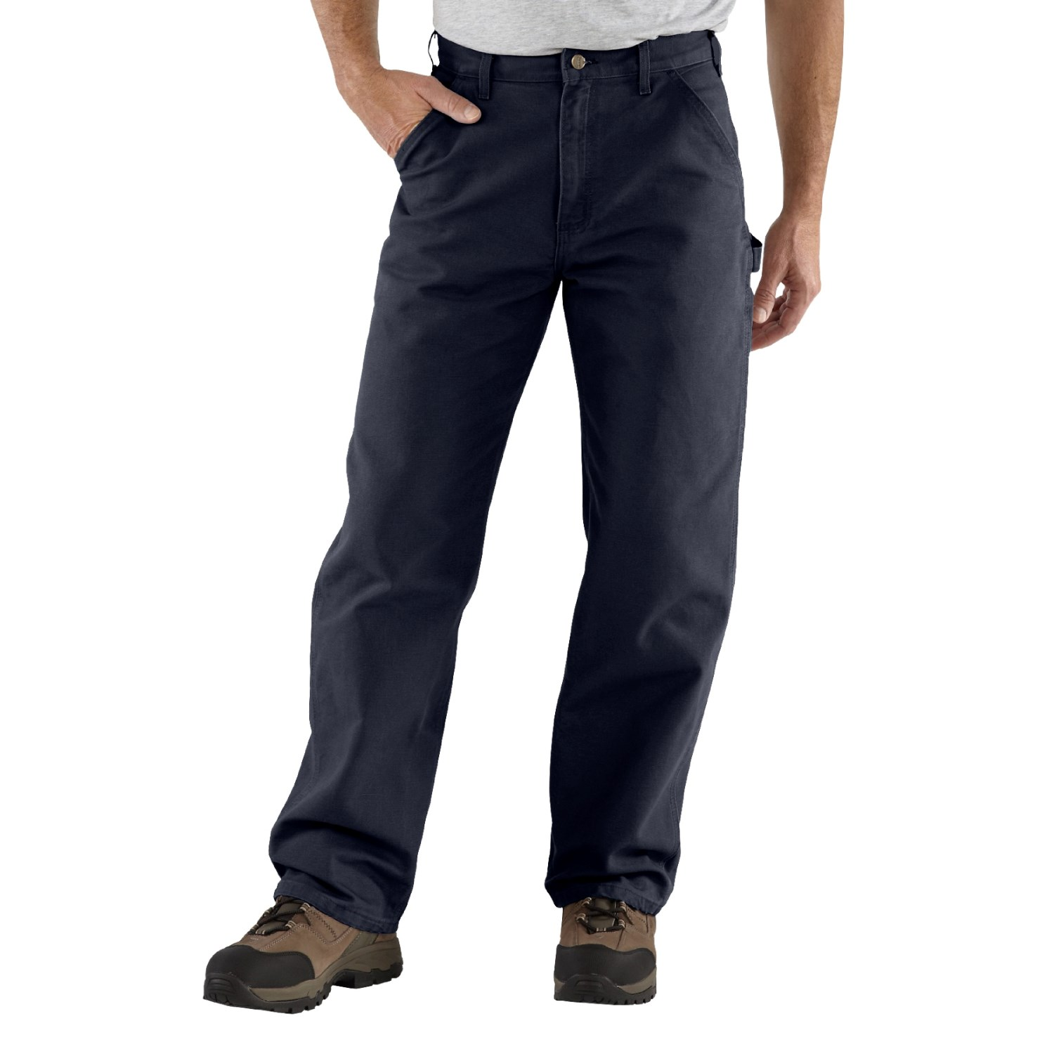High-waisted pants - Review of Carhartt Washed Duck Work Pants