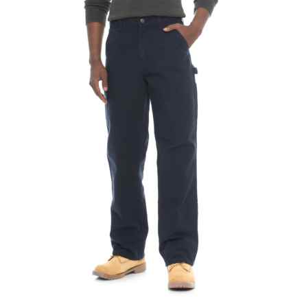 Carhartt Washed Duck Work Pants - Factory Seconds (For Men) in Midnight - 2nds