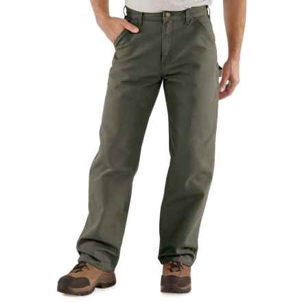 Carhartt Washed Duck Work Pants - Factory Seconds (For Men) in Moss - 2nds