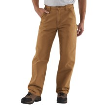 Carhartt Washed Duck Work Pants (For Men) in Carhartt Brown - 2nds