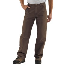 Carhartt Washed Duck Work Pants (For Men) in Dark Brown - 2nds