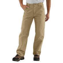 Carhartt Washed Duck Work Pants (For Men) in Desert - 2nds