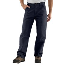 Carhartt Washed Duck Work Pants (For Men) in Midnight - 2nds