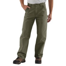 Carhartt Washed Duck Work Pants (For Men) in Moss - 2nds