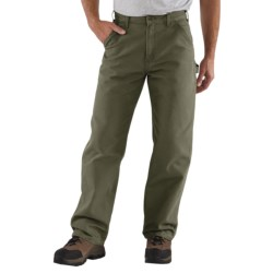 Carhartt Washed Duck Work Pants (For Men) in Desert