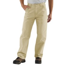 Carhartt Washed Duck Work Pants (For Men) in Stone - 2nds