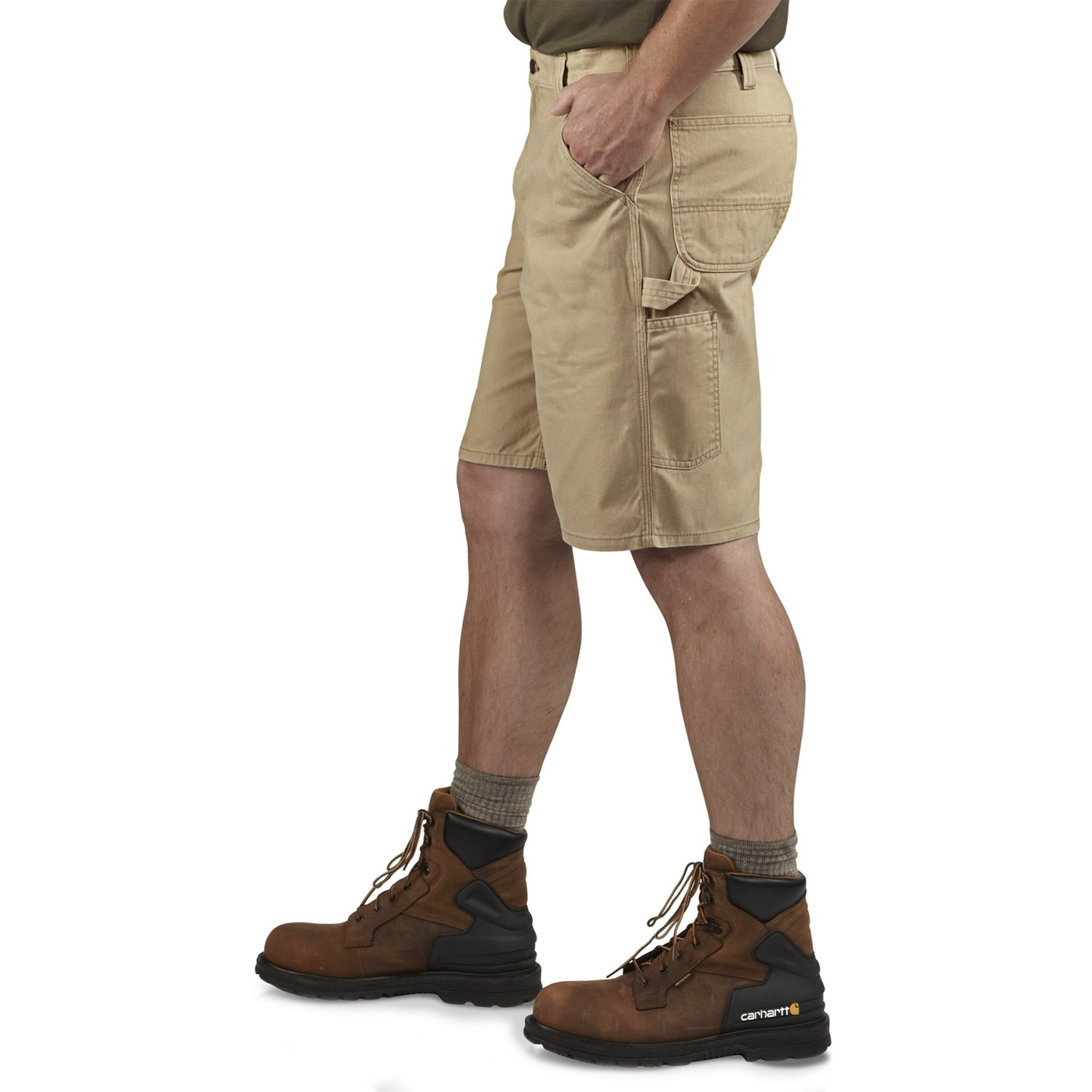 Carhartt Washed Twill Dungaree Shorts Factory Seconds For Men