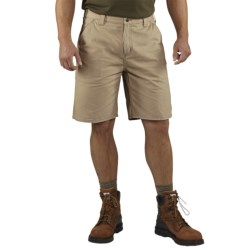 Carhartt Washed Twill Dungaree Shorts (For Men) in Dark Khaki