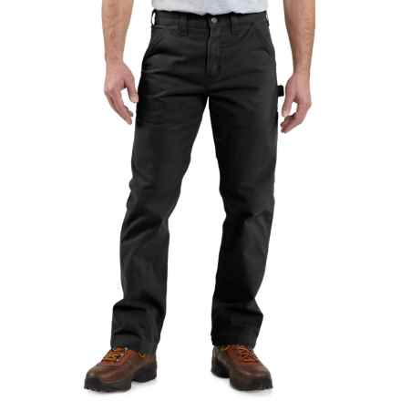 Carhartt Washed Twill Work Pants - Factory Seconds (For Men) in Black - 2nds