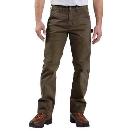 Carhartt Washed Twill Work Pants - Factory Seconds (For Men) in Dark Coffee - 2nds