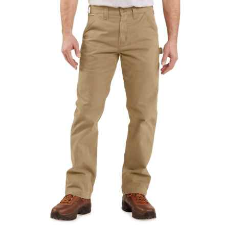 Carhartt Washed Twill Work Pants - Factory Seconds (For Men) in Dark Khaki - 2nds