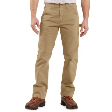 Carhartt Washed Twill Work Pants - Factory Seconds (For Men)
