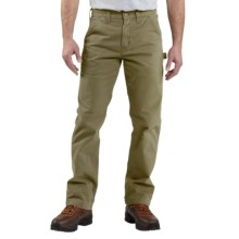 Carhartt Washed Twill Work Pants (For Men) in Army Green - 2nds