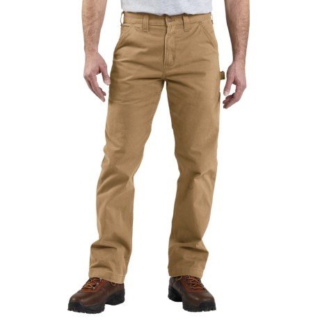 Carhartt Washed Twill Work Pants (For Men) in Army Green