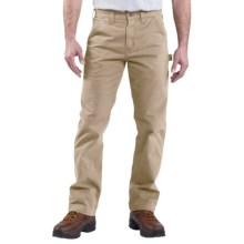 Carhartt Washed Twill Work Pants (For Men) in Field Khaki - 2nds