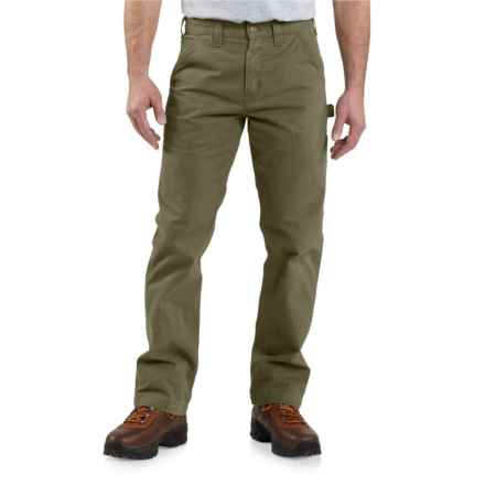 Carhartt Washed Twill Work Pants - Relaxed Fit, Factory Seconds (For Men) in Army Green - 2nds