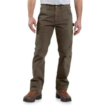 Carhartt Washed Twill Work Pants - Relaxed Fit, Factory Seconds (For Men) in Dark Coffee - 2nds