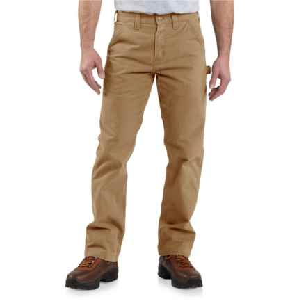 Carhartt Washed Twill Work Pants - Relaxed Fit, Factory Seconds (For Men) in Dark Khaki - 2nds
