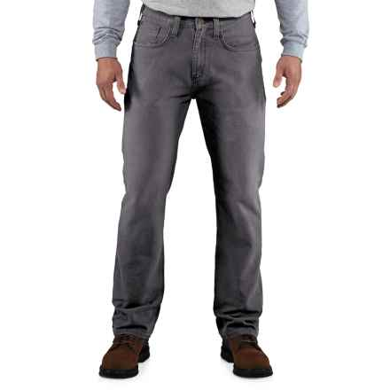Carhartt Weathered Duck 5-Pocket Pants - Factory Seconds (For Men) in Gravel - 2nds