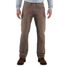 Carhartt Weathered Duck 5-Pocket Pants (For Men) in Dark Coffee - 2nds
