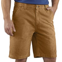 Carhartt Weathered Duck Work Shorts (For Men) in Carhartt Brown - 2nds