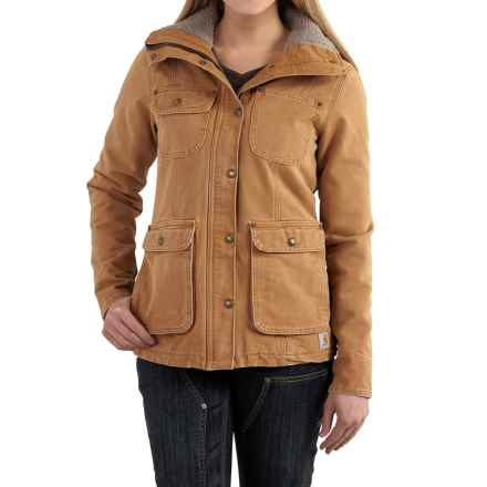 Carhartt Wesley Coat - Cotton, Factory Seconds (For Women) in Carhartt Brown - 2nds