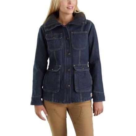 81d8ec6800 Carhartt Wesley Coat - Factory Seconds (For Women) in Heritage Blue