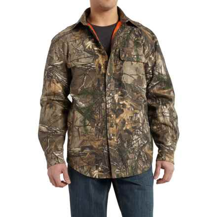 Carhartt Wexford Camo Shirt Jacket - Factory Seconds (For Men) in Realtree Xtra - 2nds