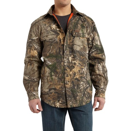 Carhartt Wexford Camo Shirt Jacket - Factory Seconds (For Men) in Realtree Xtra