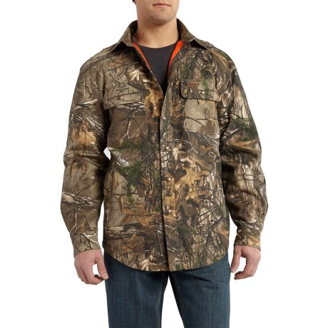 dcba4cd8a02f6 Carhartt Wexford Camo Shirt Jacket (For Men) in Realtree Xtra
