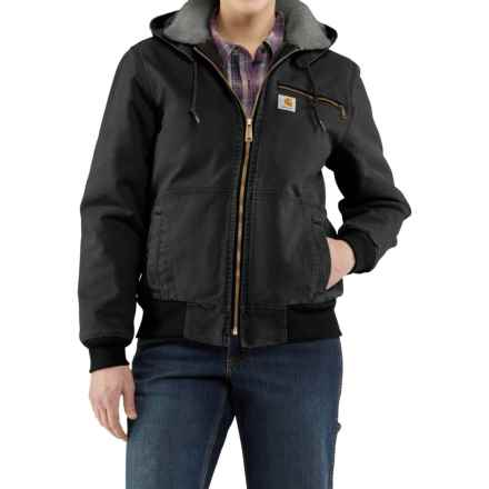 Carhartt Wildwood Weathered Duck Jacket - Factory Seconds (For Women) in Black - 2nds