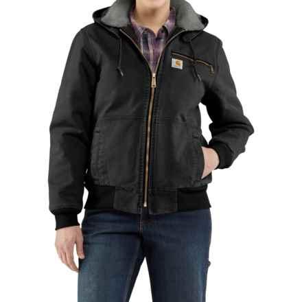 Carhartt Wildwood Weathered Duck Jacket - Factory Seconds (For Women) in Black - 2nds