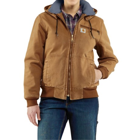 Carhartt Wildwood Weathered Duck Jacket - Factory Seconds (For Women) in Carhartt Brown