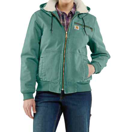 Carhartt Wildwood Weathered Duck Jacket - Factory Seconds (For Women) in Coastline - 2nds