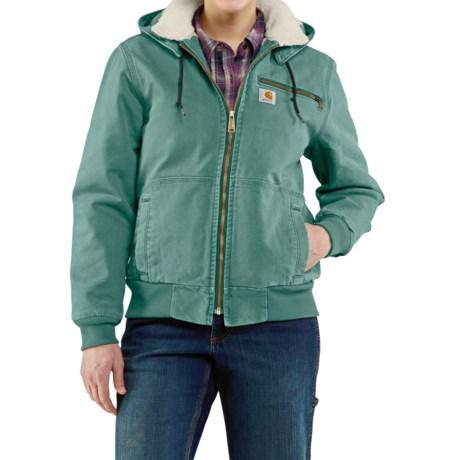 Carhartt Wildwood Weathered Duck Jacket - Factory Seconds (For Women)