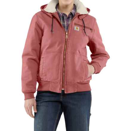 Carhartt Wildwood Weathered Duck Jacket - Factory Seconds (For Women) in Dried Rose - 2nds