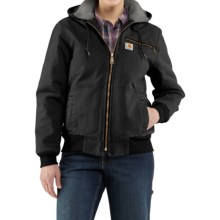 Carhartt Wildwood Weathered Duck Jacket (For Women) in Black - 2nds