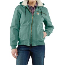 Carhartt Wildwood Weathered Duck Jacket (For Women) in Coastline - 2nds