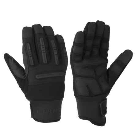 Carhartt Winter Ballistic Gloves - Waterproof (For Men and Women) in Black/Dark Grey - Closeouts