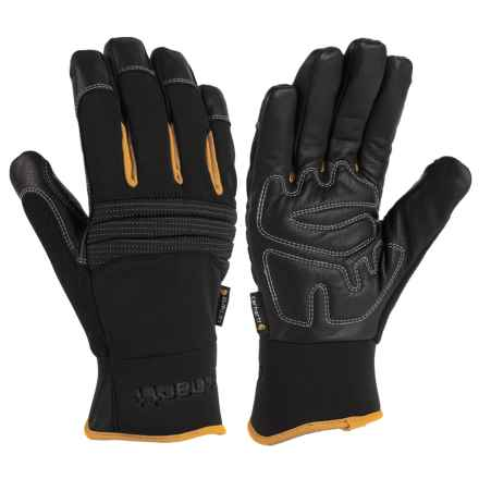 Carhartt Winter Dex Gloves - Waterproof (For Men and Women) in Black - Closeouts