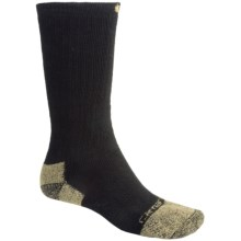 Carhartt Work Boot Socks - Crew (For Men) in Black - 2nds
