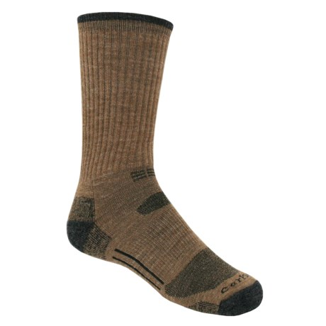 Carhartt Work-Dry® All-Terrain Crew Socks (For Men) in Heather Grey