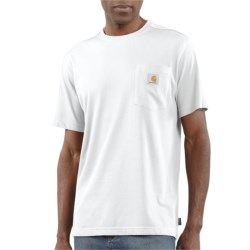 Carhartt Work-Dry® T-Shirt - Short Sleeve  (For Men) in White