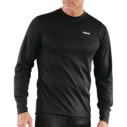 Carhartt Work-Dry® Thermal Base Layer Top - Midweight, Long Sleeve (For Tall Men) in Black