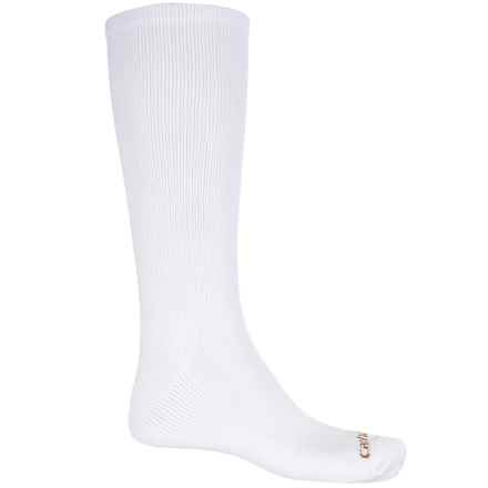 Carhartt Work-Dry® Western Boot Socks - Over the Calf (For Men) in White - Closeouts