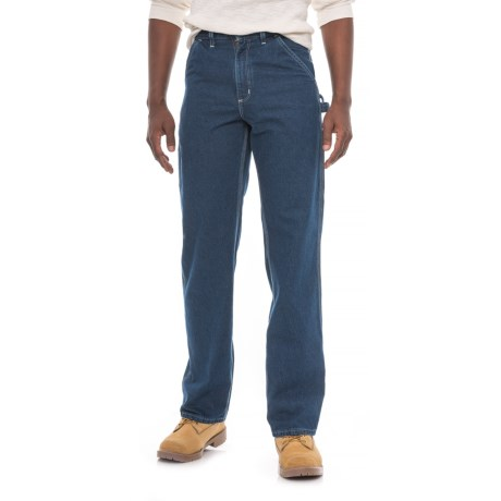Carhartt Work Dungaree Jeans - Loose Original Fit, Factory Seconds (For Men) in Darkstone