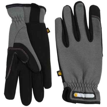 Carhartt Work Flex Gloves (For Women) in Grey Black - Closeouts